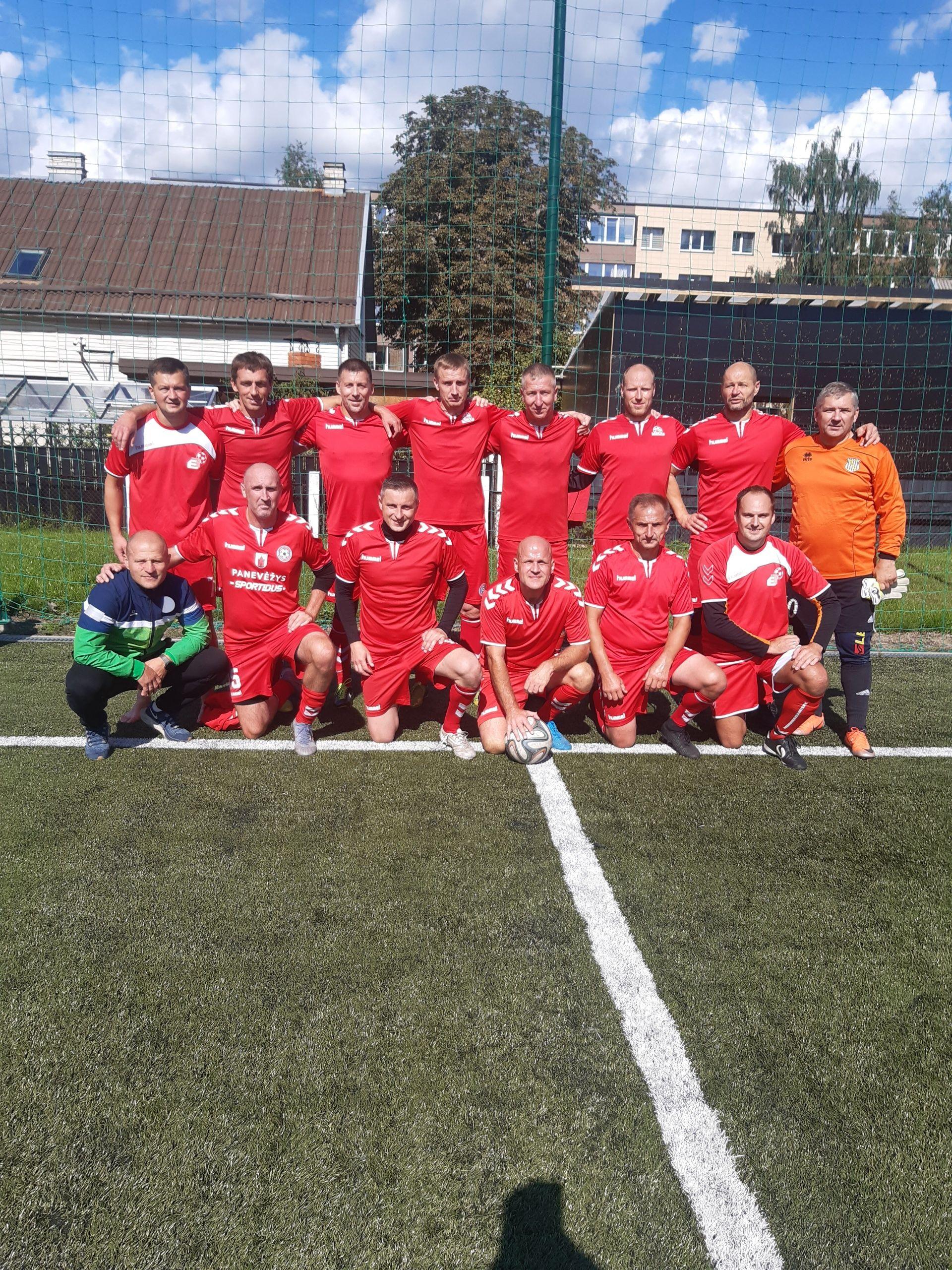 2021 m. Lietuvos futbolo veteranų 40+ pirmenybės