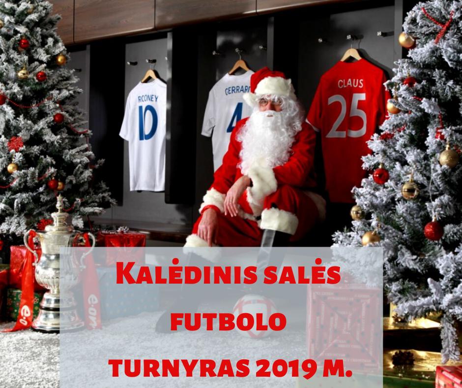 Skelbiame registraciją į Kalėdinį salės futbolo turnyrą