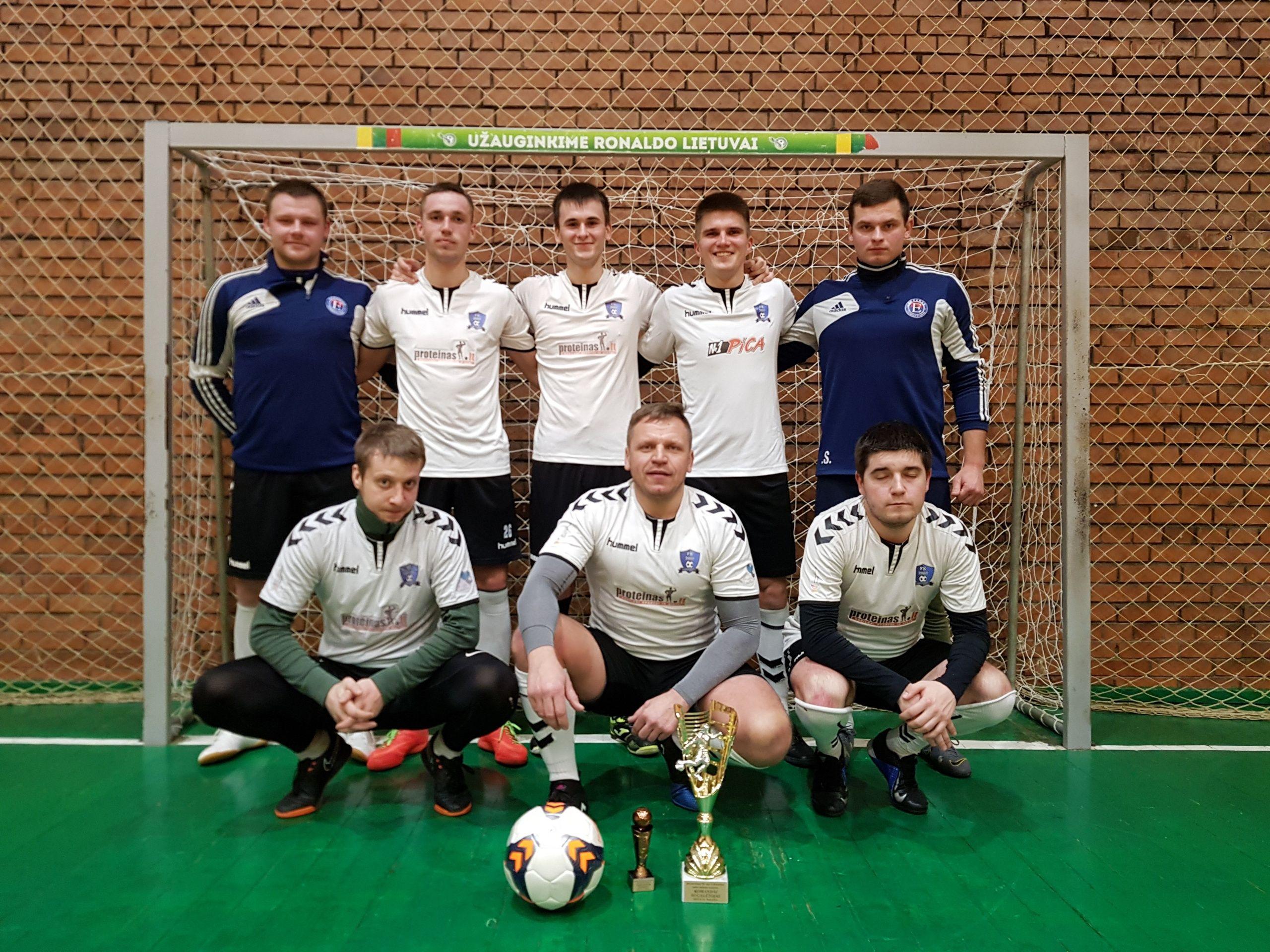 Šeštadienį finišavo 36-asis A.Kunčinos salės futbolo turnyras.